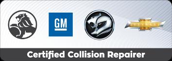 Holden Certified Collision Repair