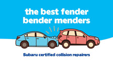 Subaru collision repair